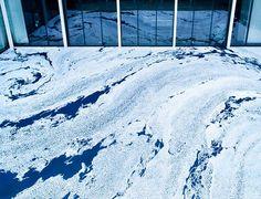Motoi Yamamoto: floating garden composed from salt