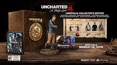Amazon.com: UNCHARTED 4: A Thief's End Libertalia Collector's Edition - PlayStation 4: Video Games