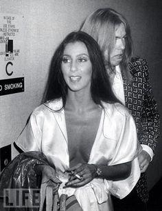 Allman Gregg 1975Cher   Gregg Allman Cher