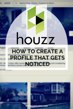 How to set up a Houzz professional profile that gets noticed. http://www.overgovideo.com/blog/houzz-marketing-set-up-professional-profile via @overgostudio