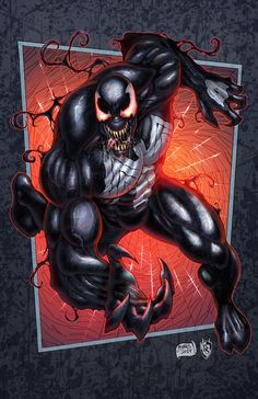 #Venom #Fan #Art. (Venom - COLORS) By: FableBound. (THE * 5 * STÅR * ÅWARD * OF * MAJOR ÅWESOMENESS!!!™)[THANK U 4 PINNING!!<·><]<©>ÅÅÅ+