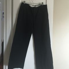 Wide leg stretch trousers GAP wide leg stretch trousers. Cotton stretch. Wish I could still wear them. Ankle length GAP Pants Wide Leg