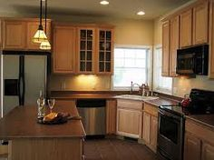 Image result for small kitchen layout                              …