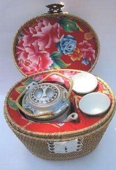 Chinese tea basket