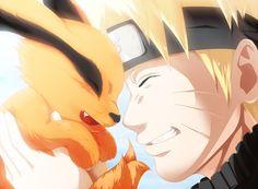 Anime Naruto  Naruto Uzumaki Kurama (Naruto) Wallpaper
