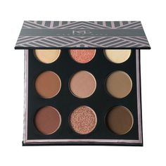 Makeup Geek In The Nude 9 Color Eyeshadow Palette    - Makeup Geek-This palette is full of really beautiful shades and a variety of textures-the possibilities are endless