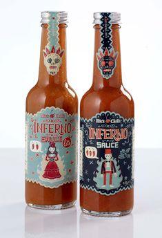 Inferno Sauce Packaging Steve Simpson: «Cuantos más errores se cometen, mayores son las oportunidades de aprender algo nuevo»