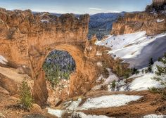 Natural Bridge, Bryce Canyon, Utah