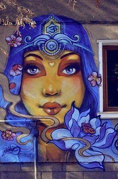 Street art by Ernaste Nasimo