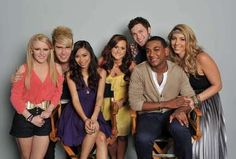 American Idol top 7!  omg they should all win! :P