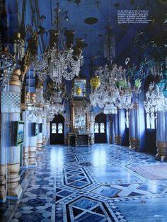 Palais Lucknow, India