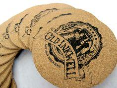 beer coasters, package design