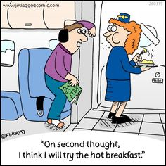 Flight Attendant humor