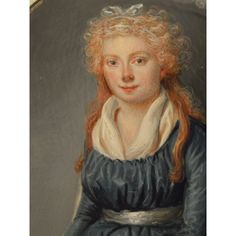 Mme Jean-François Heurtier, née Marie-Victoire Jobbé, vers 1790