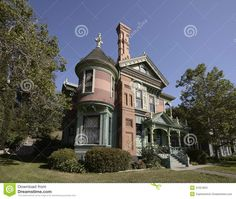Victorian Houses in California | Restored Victorian home in Southern California.