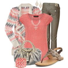 Tribal Trend, created by justbeccuz on Polyvore