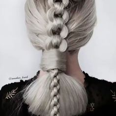 How To Style A Chain Braid? Tutorial for chain braid - How To Style A Chain Braid? Tutorial for chain braid How To Style A Chain Braid? Tutorial for chain braid Box Braids Hairstyles, Cool Hairstyles, Hair Upstyles, Natural Hair Styles, Long Hair Styles, Hair Videos, Hair Designs, Hair Hacks, Hair Trends