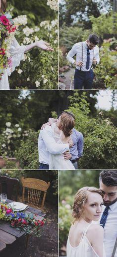 Backyard Wedding Inspiration full of Easy Elegance - Style Me Pretty