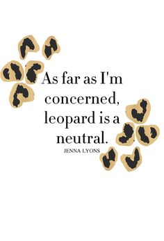 leopard = neutral