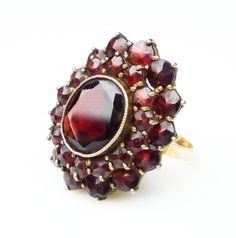 Gorgeous Garnets - January's Birthstone by Cherie on Etsy