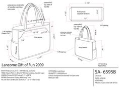 Promotional handbags & gift boxes for mass market retail. Price sensitive handbags, hardware and custom print design & development. - by Jessica Tong-Ahn Leather Purses, Leather Handbags, Drawing Bag, Leather Bag Pattern, Diy Bags Purses, Canvas Messenger Bag, Wallet Pattern, Bag Patterns To Sew, Denim Bag