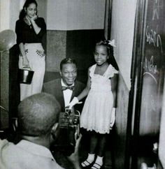 7 yr old Gladys Knight and Nat King Cole