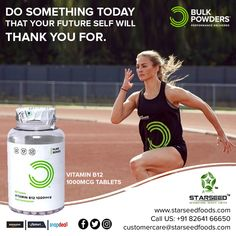 Choose your Optimal Nutrition at Starseed®, Exclusive Importer of Bulk Powders® UK Vitamin B12 Tablets, Red Blood Cells, Vegan Vegetarian, Something To Do, Vitamins, Powder, Nutrition, Pure Products, Face Powder