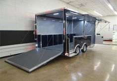 16' Concession Trailer Ready to Show Your Products | Advantage Trailer