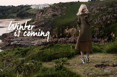 visual optimism; fashion editorials, shows, campaigns & more!: winter is coming: marijn van ingen by cornelie tollens for elle netherlands september 2014