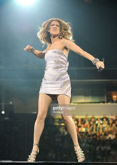 Vocalist Celine Dion performs at the HP Pavilion on February 20, 2009 in San Jose, California.