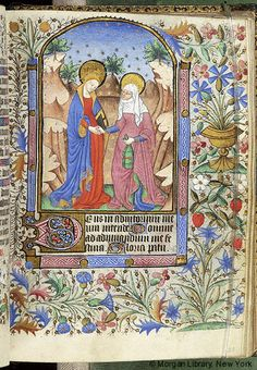 Book of Hours, M.63 fol. 28r - Images from Medieval and Renaissance Manuscripts - The Morgan Library & Museum