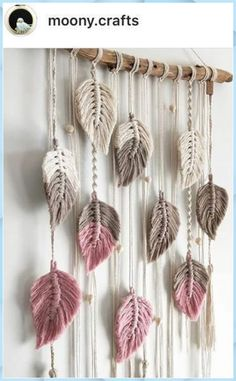 Macrame Wall Hanging Diy, Macrame Curtain, Macrame Art, Macrame Projects, Macrame Knots, Macrame Mirror, Micro Macrame, Diy Home Crafts, Arts And Crafts