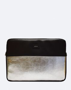 funda-portatil-minimal-metalico-plateado Sheet Pan, Collection, Notebook Covers, Springform Pan, Cookie Tray