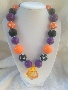 Halloween Chunky Necklace