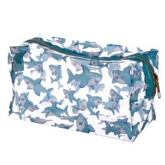 If you like your gifts fun and practical then look no further than our range of make bags and purses. Made from a durable fabric these are ideal for kids and adults of all ages. Dimensions: Height 11cm Width 20cm Depth 9cm (approx 4.5 x 8 x 3.5 inches) Material: PVC Travel Cosmetic Bags, Travel Toiletries, Shark Gifts, Free Shipping Makeup, Skulls And Roses, Large Handbags, Wash Bags, Clutch