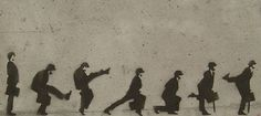 Monty Python - School of Silly walking.so funny Graffiti Pictures, Graffiti Artwork, Street Art Graffiti, Stencil Graffiti, Walkable City, Monty Python, Chalk Art, Banksy, Urban Art