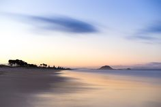 Watercolour Mauao - a blend of 256 individual shots to give a single frame of Mt Maunganui from Papamoa Beach Bay of Plenty New Zealand. [OC] [6000x4000]  This is amazing!