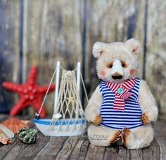 FOR SALE Sailor polar bear OOAK teddy bear Artist от NatalyTools