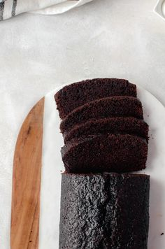 A simple chocolate loaf cake that is a cinch to bake up - and you'll love that it is still wholesome enough to have as a special breakfast!
