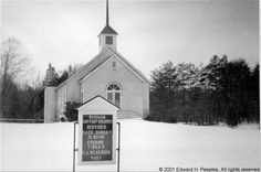 Worsham Baptist Church in Worsham, Prince Edward County, Virginia