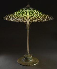 Tiffany Studios, Lotus Table Lamp, 1905