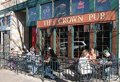 The Crown Pub. 134 S. College Avenue. Fort Collins, Colorado.