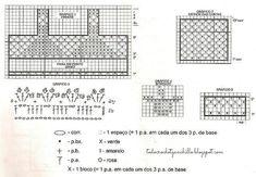 moldes-blusa-pollera-crochet.jpg (833×577)