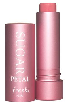 Fresh® Sugar Tinted Lip Treatment SPF 15 available at #Nordstrom in petal or sugar nude