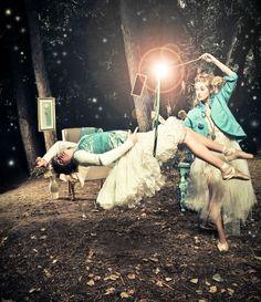 Faeries, sea foam green, cool photos, fashion, ballerinas