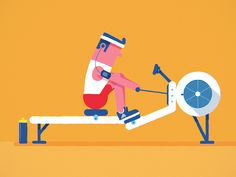 Argh! How to row and not get a workout, be able to breathe, and finish without damaging your back.
