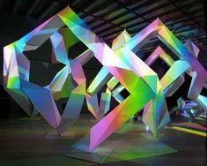 Japanese artist kyota takahashi and architect akihisa hirata collaboration 'prism liquid'. Designboom.  canon's neoreal installation at milan design week 2010.