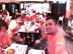 Race day dinner #FuRush #furassyu #furazo #furazu  #tamiyaindonesia #Mini4WD #TamiyaMini4WD #IndonesiaCup2016 #IC2016 #KOMSS #TeamFlazh #STO100 #ミニ四駆 #tamiya #TOS #TamiyaOriginalSeratus #AsiaChallenge2016 #waigo #hongkong