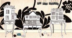www.kendragrey.co.uk - my own dolls house illustration