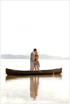 canoe kisses.